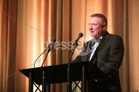 Press Eye - Belfast - Northern Ireland - 6th February 2017 -  . Belfast Telegraph Sports Awards 2016.. Jim Gracey pictured at the Belfast Telegraph Sports Awards 2016 in the Waterfront Hall.. Photo by Kelvin Boyes / Press Eye..