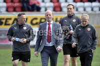 Press Eye Belfast - Northern Ireland 12th August 2017. Danske Bank Irish Premier league match between Cliftonville and Ards at Solitude Belfast.. Barry Gray.  Photo by Stephen  Hamilton / Press Eye