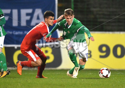 Northern Ireland U19  v Serbia U19...