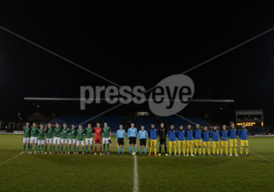 Northern Ireland U21 v Romania U21...