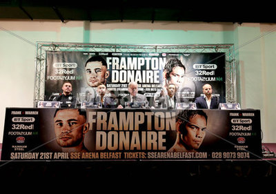 Carl Frampton Press Conference