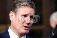 PressEye - Belfast - Northern Ireland - 04th February 2019. Labour Party MP, Sir Keir Starmer KCB QC pictured this morning at the Europa Hotel Belfast after having meetings with the political parties .. Picture: Philip Magowan / PressEye