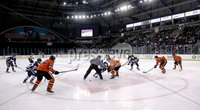 Press Eye - Belfast, Northern Ireland - 30th November 2019 - Photo by William Cherry/Presseye. Princeton Tigers with UNH Wildcats during Saturday afternoons Friendship Four game at the SSE Arena, Belfast.      Photo by William Cherry/Presseye
