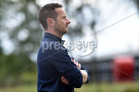 © Press Eye.com 12th August 2017. NIFL Championship 1. Lurgan Celtic v Newry City.. Newry Cityc manager, Darren Mullen during Saturday\'s match at Knockramer Park. Photo by TONY HENDRON/Presseye.com