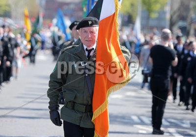 Easter Republican parade in Belfas...