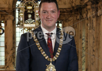 New Lord Mayor John Finucane