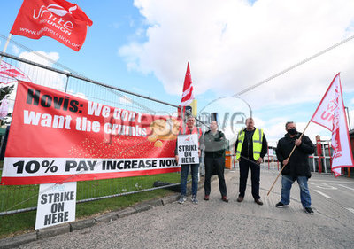 Hovis Workers Strike