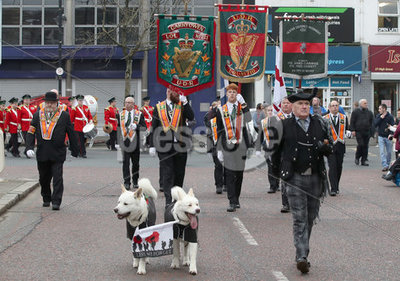 UDR Commemoration Parade