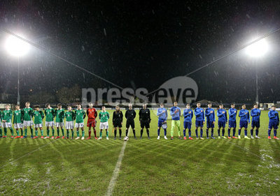Northern Ireland U17 v Greece U17,...