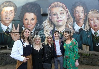 Derry Girls Mural
