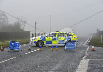 Collision outside Toomebridge
