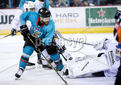 Belfast Giants vs  Herning Blue Fo...