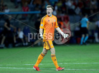 Press Eye - Belfast -  Northern Ireland - 11th June 2019 - Photo by William Cherry/Presseye. Northern Ireland\'s Bailey Peacock-Farrell after defeating Belarus 1-0 during Tuesday nights UEFA EURO 2020 Qualifier at the Borisov Arena, Belarus.      Photo by William Cherry/Presseye