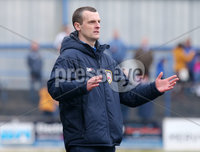 Danske Bank Premiership, The Ballymena Showgrounds, Co. Antrim 14/4/2018 . Coleraine vs Ballymena United.. Coleraine\'s manager Oran Kearney. Mandatory Credit ©INPHO/Jonathan Porter