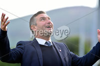 © Presseye.com- August 12th 2017, Danske Bank Premiership.. Warrenpoint Town v Glenavon 5:30 Kick off.. Warrenpoint manager, Matthew Tipton during Saturday\'s match at Milltown. Photo by TONY HENDRON/Presseye.com. .