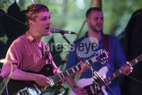 ©Lorcan Doherty Photography - 12th August 2017 . Stendhal Festival 2017. Joshua Burnside and band performing at the Woodtown Stage.. Photo by Lorcan Doherty / Press Eye..