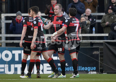 Crusaders v Ballymena United  Dans...