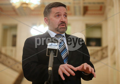 Health Minister Robin Swann Stormo...