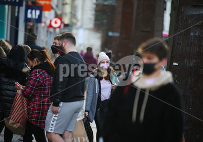 Belfast Sunday shoppers