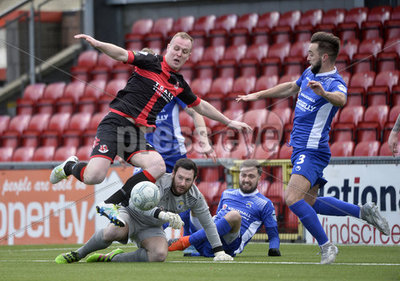 Crusaders v Dungannon Swifts - Dan...