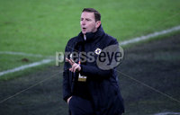 Press Eye - Belfast, Northern Ireland - 18th November 2020 - Photo by William Cherry/Presseye. Northern Ireland manager Ian Baraclough during Wednesday nights UEFA Nations League game against Romania at the National Football Stadium at Windsor Park, Belfast. Photo by William Cherry/Presseye