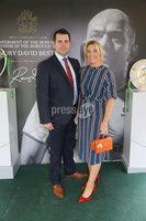 Press Eye - Belfast - Northern Ireland - 8th September 2018 - . Marc and Jill Woods pictured at the Archbishop's Palace in Armagh along with friends and family of Dr Rory Best OBE to witness the sportsman's conferment with the Freedom of the Borough of Armagh City, Banbridge and Craigavon..  . Photo by Kelvin Boyes / Press Eye..