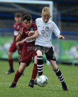 PressEye-Northern Ireland- 27th   July  2018-Picture by Brian Little/PressEye. SuperCupNI. Minor  Section . Greenisland  Paddy Quinn     against Bertie Peacock Youths Bobby-Jack McAleese      during the SuperCupNI Minor Final  at Coleraine Showgrounds. . Picture by Brian Little/PressEye