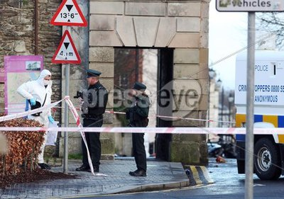 Bomb at Court House, Bishop Street...