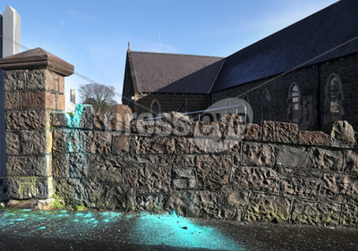 Larne church attack