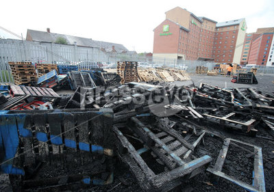 Sandy Row Bonfire