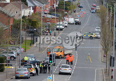 Car Accident, North Belfast.