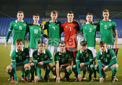 Northern Ireland Vs Germany U19