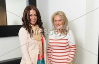 ©Press Eye Ltd Northern Ireland - 4th May 2012. Therapie Clinic Londonderry.. Ciara Donnelly-Jack and Anne Marie Donnelly. Mandatory Credit - Picture by Stephen Hamilton /Presseye.com. .