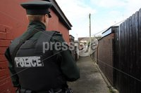 Press Eye Belfast - Northern Ireland 9th August 2017. Picture by Lorcan Doherty /PressEye.com. A man has been shot four times by a gang of masked men in a paramilitary-style attack in Londonderry.. The shooting happened in Lisfannon Park in the Bogside after 21:30 BST on Tuesday.. The 33-year-old man was taken to hospital with wounds to his legs and abdomen. His injuries are non-life threatening.. Police have described the attack by four men as
