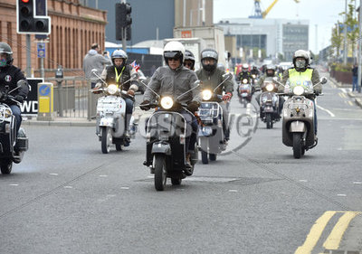 Belfast Vespa Weekend.