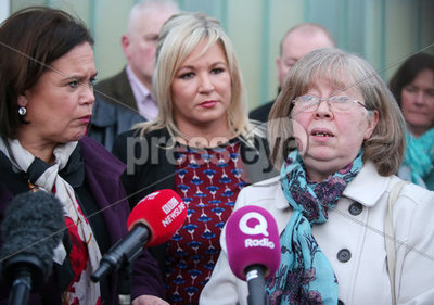 Sinn Fein Leaders Press Call