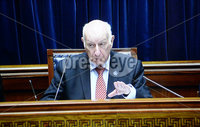 Presseye.com. 21/10/2019. Speaker Robin Newton pictured at Stormont  chamber where local MLAs returned to the chamber to debate laws on abortion and same sex marriage which will change at midnight  tonight .. Mandatory Credit Stephen Hamilton /Presseye