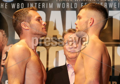 Carl Frampton Weigh-In