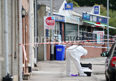 Shots fired at a house in Newtowna...