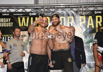 Carl Frampton Weigh In