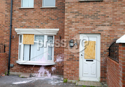 West Belfast house attack