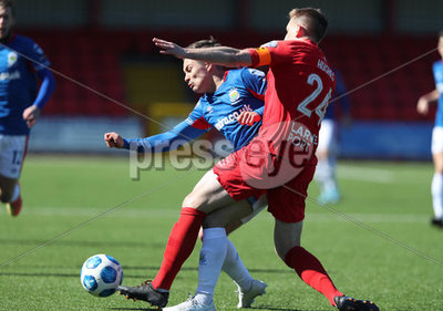 Larne vs Linfield
