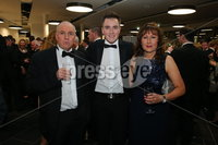 Press Eye - Belfast - Northern Ireland - 6th February 2017 -  . Belfast Telegraph Sports Awards 2016.. xxxx pictured at the Belfast Telegraph Sports Awards 2016 in the Waterfront Hall.. Photo by Kelvin Boyes / Press Eye..