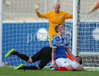20th September 2014 ©William Cherry / Presseye. Linfield\'s Peter Thompson during Saturdays Danske Bank Premiership game at Windsor Park, Belfast.