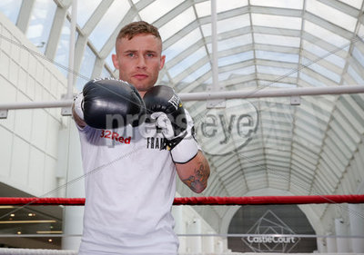 Carl Frampton Public Work Out