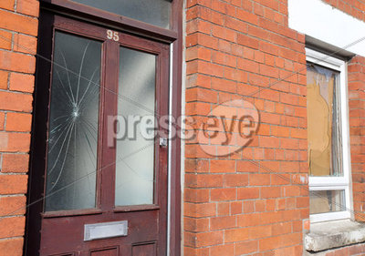 House attack, Railway Street, Ball...