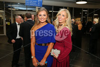 Press Eye - Belfast - Northern Ireland - 6th February 2017 -  . Belfast Telegraph Sports Awards 2016.. Tiffany Brian and Stacey Deller pictured at the Belfast Telegraph Sports Awards 2016 in the Waterfront Hall.. Photo by Kelvin Boyes / Press Eye..