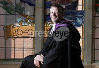 Northern Ireland- 28th May 2012 Mandatory Credit - Photo-Jonathan Porter/Presseye. Left to right.  Incoming Presbyterian Moderator Rev Dr Roy Patton pictured at Church House in Belfast City Centre ahead to opening night of the General Assembly for the Presbyterian Church in Ireland.