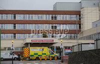 Press Eye - Belfast - Northern Ireland - 11th January 2021. Photo by Jonathan Porter / Press Eye. . General view of Craigavon Area Hospital, Co. Armagh, which in the last number of days has seen a sharp increase in the number of inpatients due to the COVID-19 pandemic..