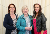 2 September 15 -   Picture by Darren Kidd / Press Eye.. Hillsborough Oyster Festival 2015:. Oyster Festival Musical Evening: The Ulster Youth Orchestra performing for the first time at Hillsborough International Oyster Festival along with the Portadown Male Voice Choir and soloist Zoe Jackson.. Pictured are Margaret Friars, Margaret Rush and Emma Friars
